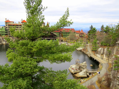 Mohonk Mountain House, site of the HudsonRiver Watershed Alliance conference.