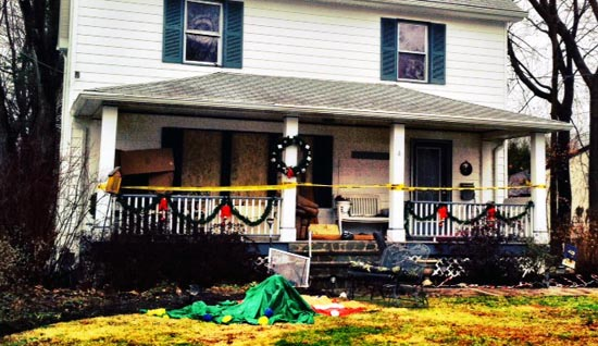 The Warren residence in Sloatsburg suffered substantial damage due to a Saturday night fire.