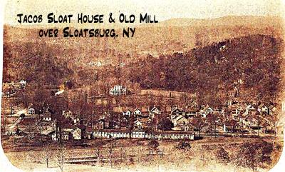 Sloat Mill over Sloatsburg