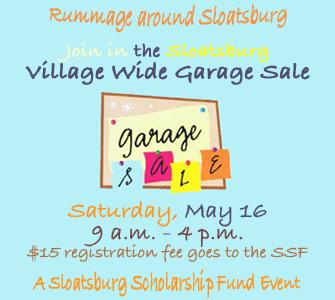 Village Wide Garage Sale @ Village of Sloatsburg   | Sloatsburg | New York | United States