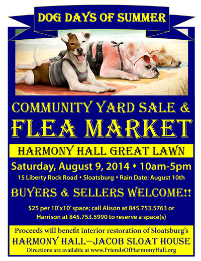 Harmony Hall Flea Market @ Jacob Sloat House | Sloatsburg | New York | United States