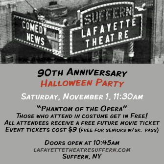 Lafayette Halloween Party @ Lafayette Theater | Suffern | New York | United States