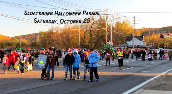 Sloatsburg's Annual Halloween Parade hits the road this Saturday, October 25. / Photo by Geoff Welch