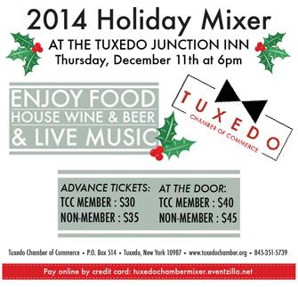 Tuxedo Chamber Holiday Mixer @ Tuxedo Junction Inn | Tuxedo Park | New York | United States