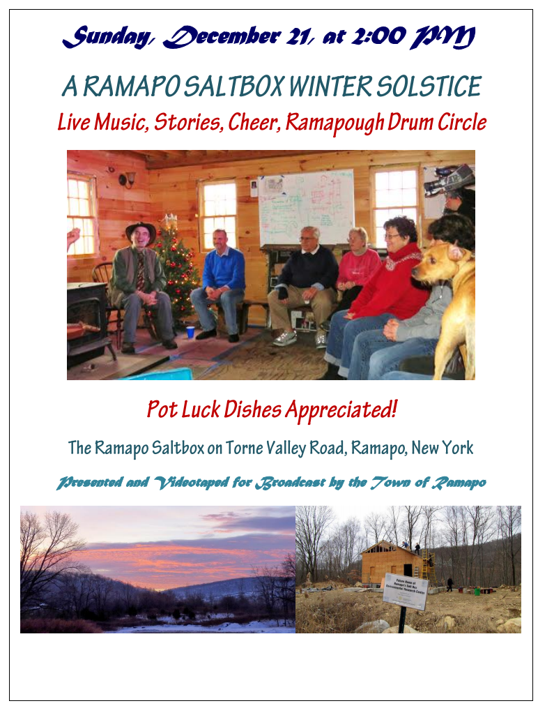 Winter Solstice Celebration @ Ramapo Saltbox | New York | United States