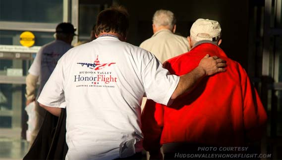 Hudson Valley Honor Flight is helping fly WWII veterans to Washington, D.C. for day trips to various national monuments.