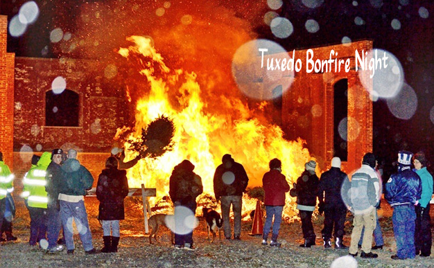 The Town of Tuxedo invites residents to Powerhouse Park Saturday to celebrate with an annual bonfire blaze.