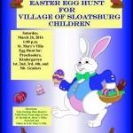 Sloatsburg Easter Egg Hunt