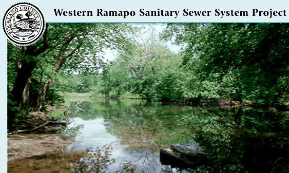 The Western Ramapo Sewer District is the Rockland County sewer extension project underway in the Suffern, Hillburn and Sloatsburg corridor.