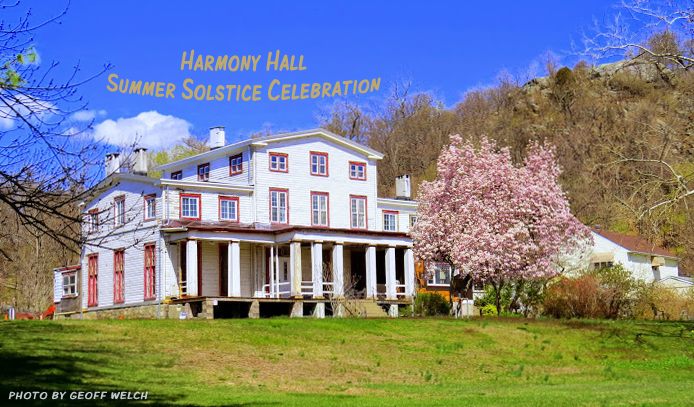Harmony Hall in Sloatsburg will host a Summer Solstice Celebration on Saturday, June 20, from 2 p.m. through 5 p.m. that will include nature walks and arts & crafts for kids.