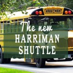 All Aboard: Yellow Harriman Bus Starts Service Around Park
