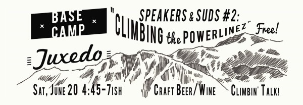 Speaker&Suds Climbing