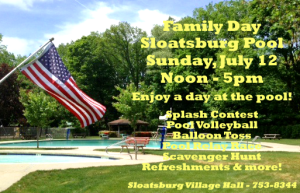 Family Day  @ Sloatsburg Pool | Sloatsburg | New York | United States