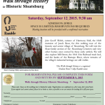 Walk Through Sloatsburg History