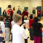 Sloatsburg Second Graders Get Into The Holiday Spirit