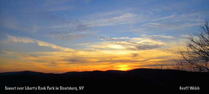 Sunset Liberty Rock copy 2