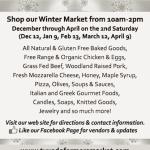 Tuxedo Winter Farmers' Market