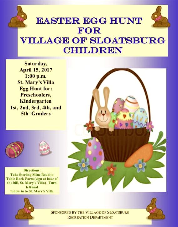 Sloatsburg Easter Egg Hunt @ St. Mary's Church Villa | Sloatsburg | New York | United States
