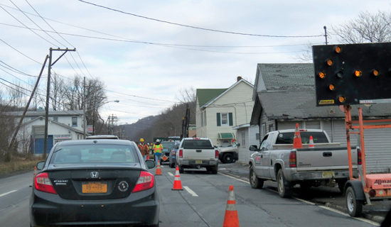 The NYS DOT issued a Stop Work Order to METRA on Tuesday, March 1, for construction work on Route 17 in Sloatsburg, NY.