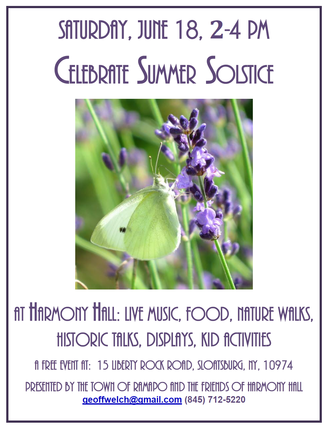 Summer Solstice Celebration @ Harmony Hall | New Jersey | United States