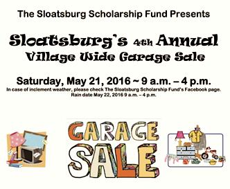 Sloatsburg Scholarship Fund Village Wide Sale @ Village of Sloatsburg | Sloatsburg | New York | United States