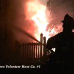 Local fire departments respond to Friday night Suffern Bridge Street house blaze
