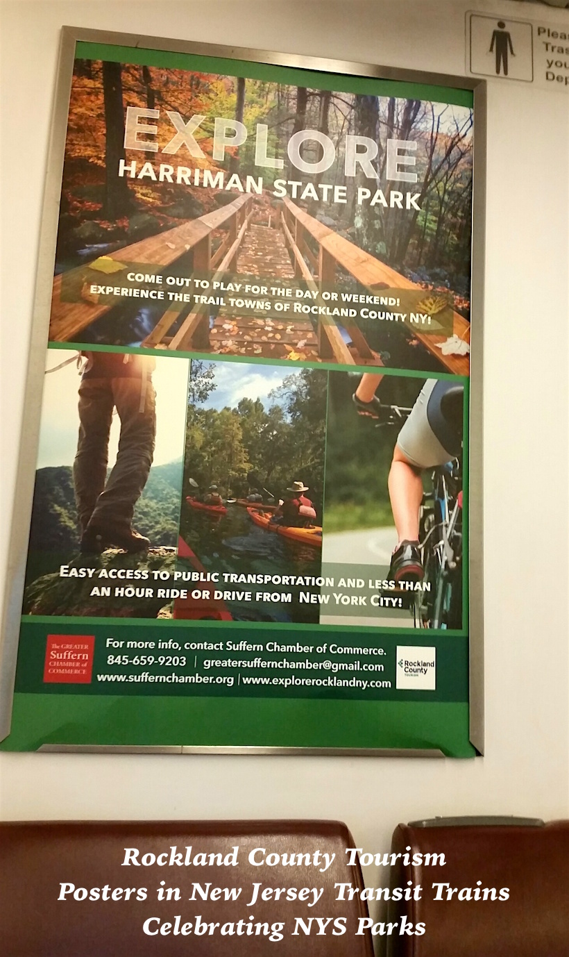 A recent grant-funded Rockland County Economic & Tourism media campaign promoted Harriman State Park and Rockland's trail towns and villages.
