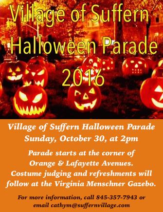 Suffern Halloween Parade @ Village of Suffern | Suffern | New York | United States