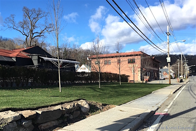 The Tuxedo Hudson Company was recently awarded a $750,000 Mid-Hudson Economic Development grant for its proposed Tuxedo/Sloatsburg revitalization effort that includes demolishing the old Tuxedo Inn building and a complete renovation of the former IGA into office space and a restaurant.