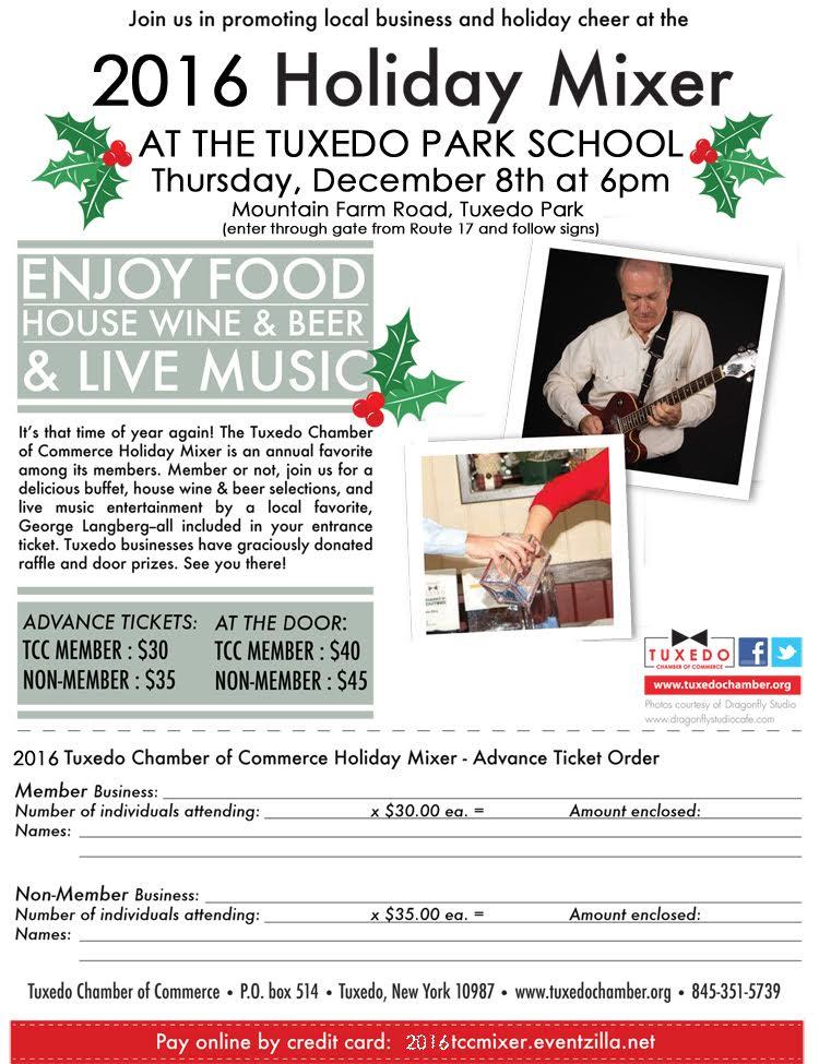 Tuxedo Chamber Holiday Mixer @ Tuxedo Park School   Tuxedo Park   New York   United States