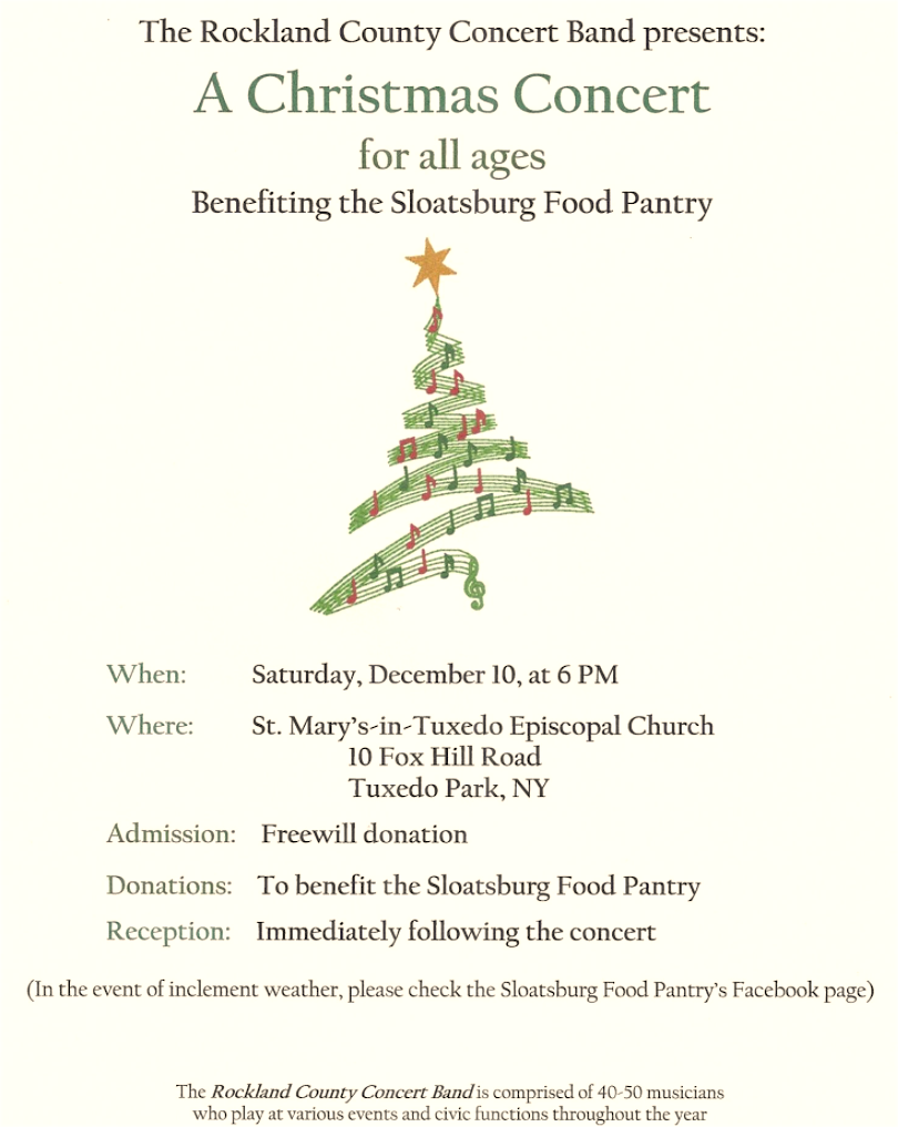 Rockland County Band Concert @ St. Mary's-in-Tuxedo | Tuxedo Park | New York | United States