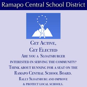 RCSD Sloatsburg Candidate