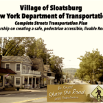 Get Ready for the Sloatsburg Complete Streets Main Street Project – residents are invited to participate in remaking Rt. 17
