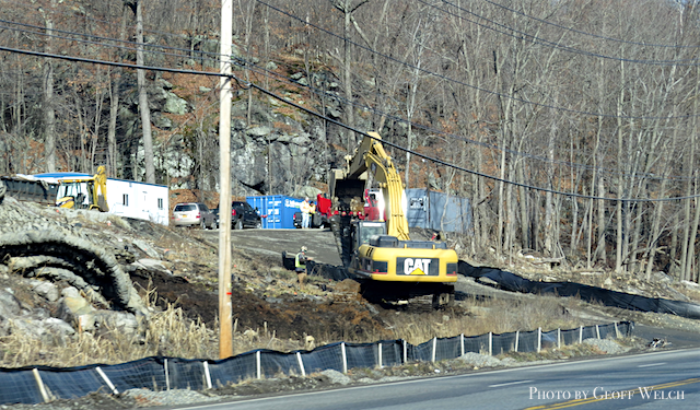 The Related Companies continues to grade and make infrasctructure improvements on the Tuxedo Farms, which looks to develop vacation and residential homes between Tuxedo and Sloatsburg, NY.