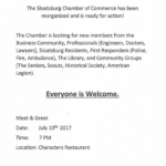 Sloatsburg Chamber Sign Up
