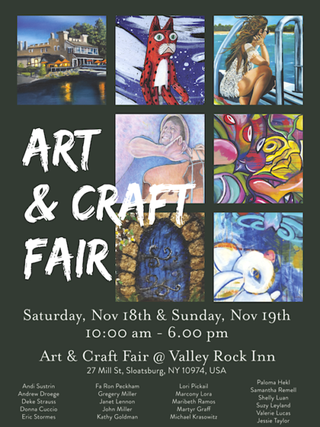 Art & Craft Fair @ Valley Rock Inn | Sloatsburg | New York | United States