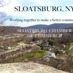 Members of the Sloatsburg Chamber got together to celebrate the new year
